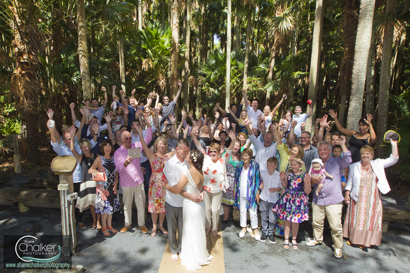 Green cathedral forster wedding